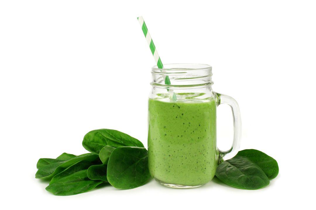 Spinat am Morgen als Smoothie zum Abnehmen