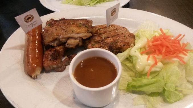24-Stunden-Diät Mittagesse: Steak mit Salat