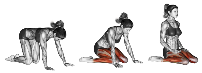 Yoga für die Oberschenkel